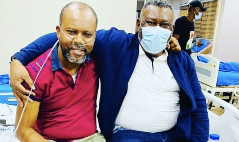 I spent over N6m to treat COVID-19 – Actor Pete Edochie's son
